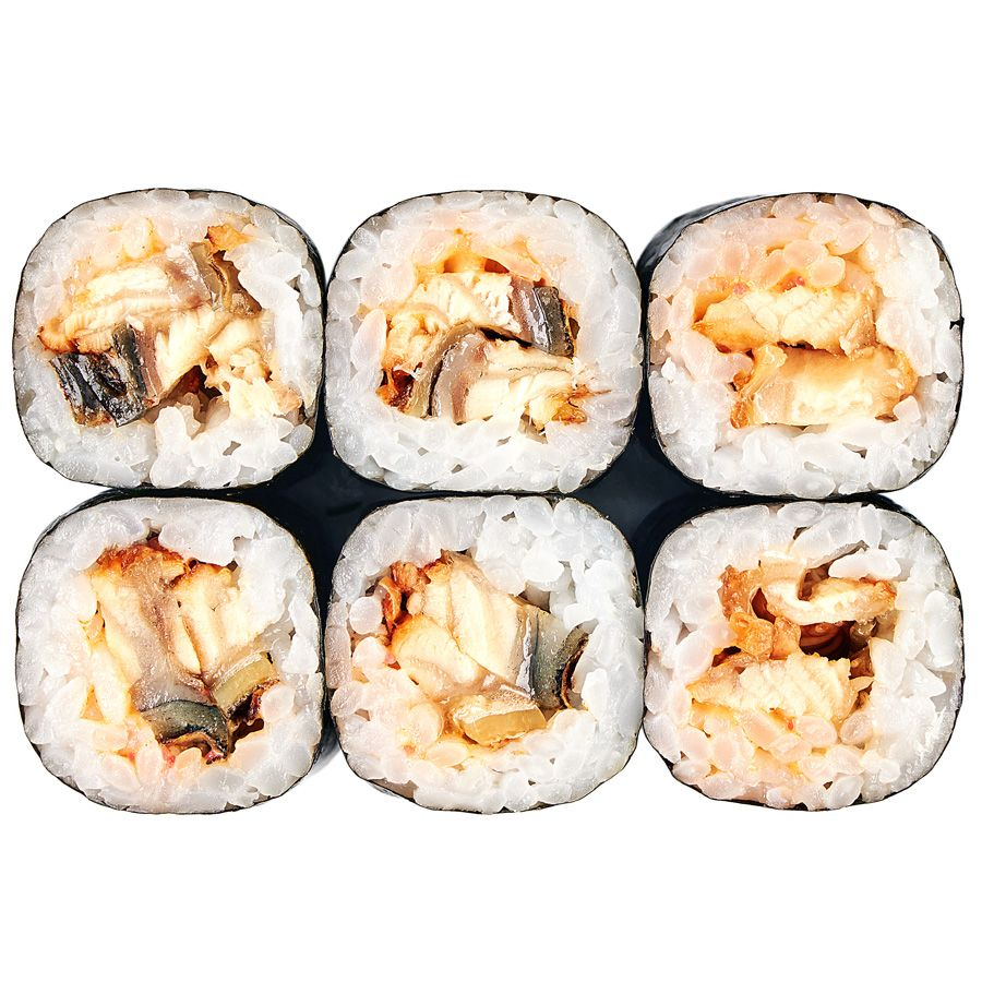 Spice roll with eel